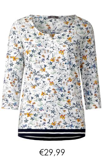 T shirt lange mouw mille fleur